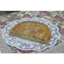 Постный классический пирог с яблоком