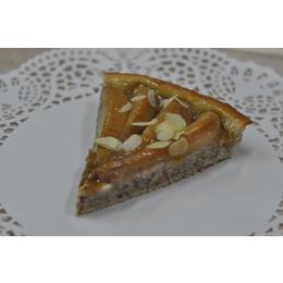 Магрибский миндально-грушевый пирог