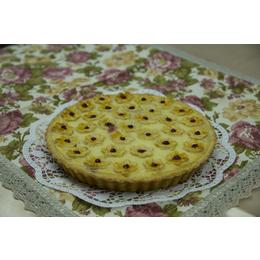 Пирог малина под сметаной