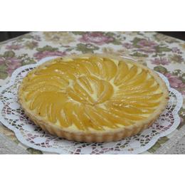 Пирог творожно-грушевый