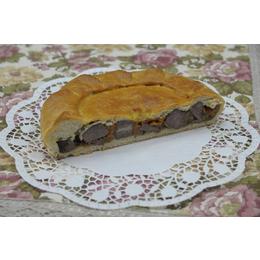 Английский пирог с говядиной и горчицей