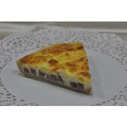 Лотарингский пирог с ветчиной