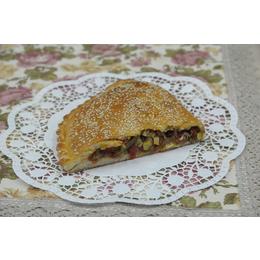 Пирог с овощным рагу