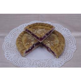 Постный классический пирог с брусникой и яблоком