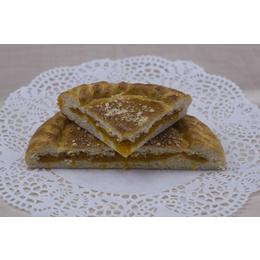 Постный классический пирог с курагой
